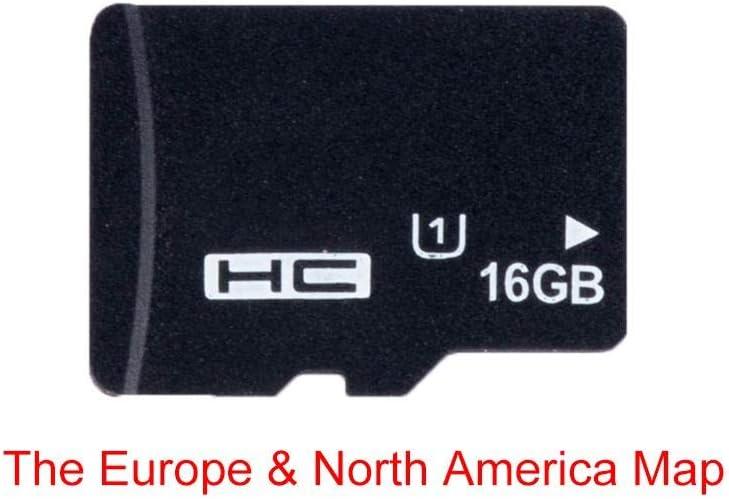 Tarjeta de navegación de mapas GPS 16G para Micro SD Clase 10 TF el mapa más reciente para WinCE Car DVD Player Navigation Rusia España España España Francia Italia Reino Unido Europa