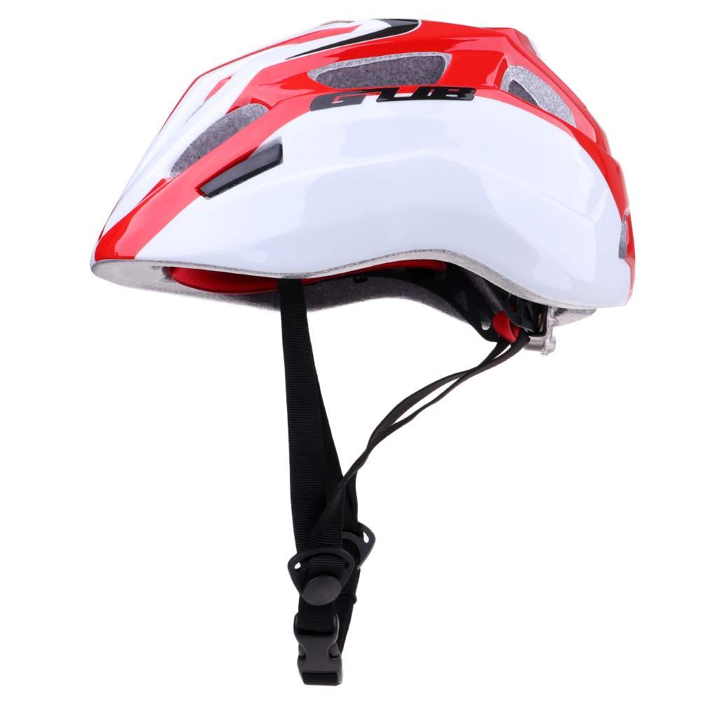 MagiDeal Casco de Seguridad para Niños Casco de Multiuso para Ciclismo Deportes al Aire Libre - Rojo