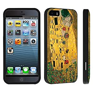 DuroCase ? Apple iPhone 5 / iPhone 5s Hard Case Black - (The Kiss)