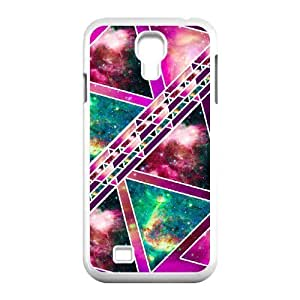 ZK-SXH - Abstract Geometric Triangles Brand New Durable Cover Case Cover for SamSung Galaxy S4 I9500, Abstract Geometric Triangles Cheap Cover Case
