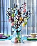 Lighted Mason Jar Easter Tree