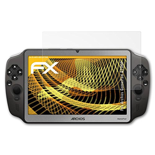 3 x atFoliX Screen protection Archos GamePad (A70GP) Protective film Screen protector - FX-Antireflex anti-reflective