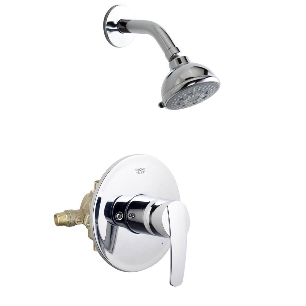 GROHE 19914000 Start Pbv Set Conc. Bath US - Bathtub And Showerhead ...