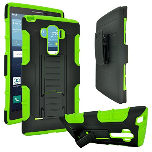 Case Shield Protector Magenta (LG K7 Case / LG Tribute 5 / LG K8 Case, Rugged Impact Armor Hybrid Kickstand Cover with Belt Clip Holster Case (Armor Green))