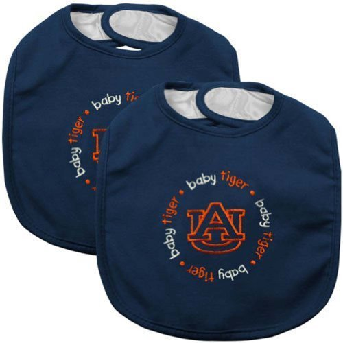 UPC 812799019572, Baby Fanatic Team Color Bibs, University of Auburn, 2-Count