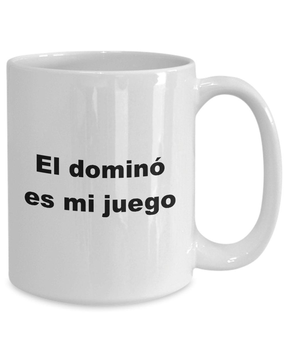 Amazon.com: Taza El domino es mi juego Regalo de Cumpleanos ...