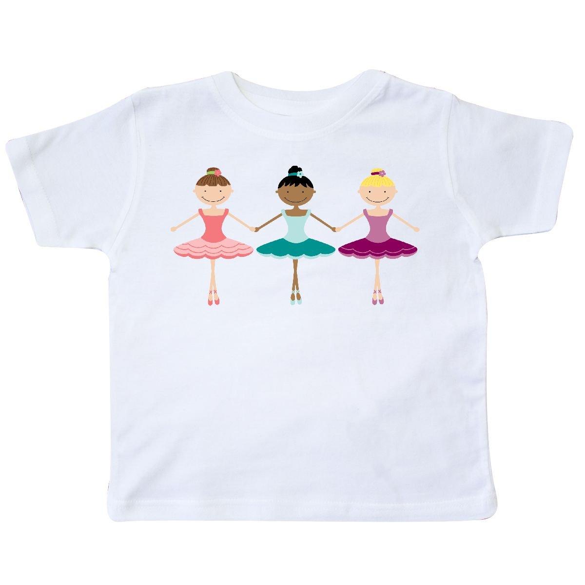 inktastic - Little Ballerina Trio Toddler T-Shirt c62a 14-50730-164
