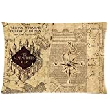 Populr Movie Custom Harry Potter Zippered Standard Pillowcase 20x30 (Two Sides) Number-2