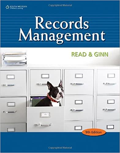 Amazon records management advanced office systems procedures records management advanced office systems procedures 9th edition fandeluxe Gallery