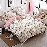 SHADEHAO Home Textile Cool Panda Bedding Set Kid Teen Adult Boy Girls Bed Linen Duvet Cover Pillowcase Bed Sheet King Queen Twin 12 Twin 4Pcs Big Sheet