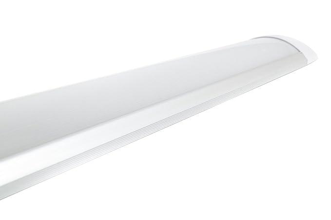 Plafoniera Led Luce Fredda : Plafoniera led 40w watt luce fredda 120cm slim smd soffitto 220v