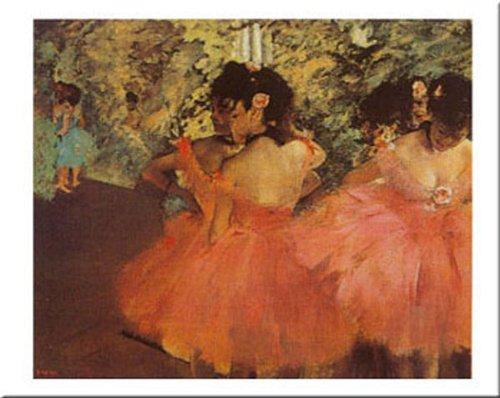 - Ballerine In Rosa by Edgar Degas 16x20 Art Print Poster