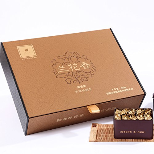 SHI Hui poly spring and autumn Tieguanyin tea gift box, Anxi Tieguanyin tea autumn, alpine orchid fragrance 480g