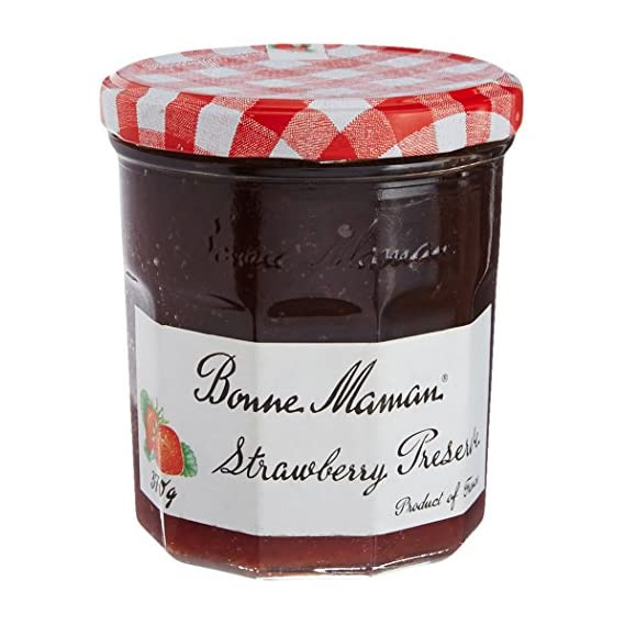 Bonne Maman Strawberry - Preserve, Jam Jar, 370 g