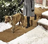 "No-Slip Anti-Slip Ice Carpet Runner Outdoor Mat - Don't Shovel Snow - (30"" Wide)"