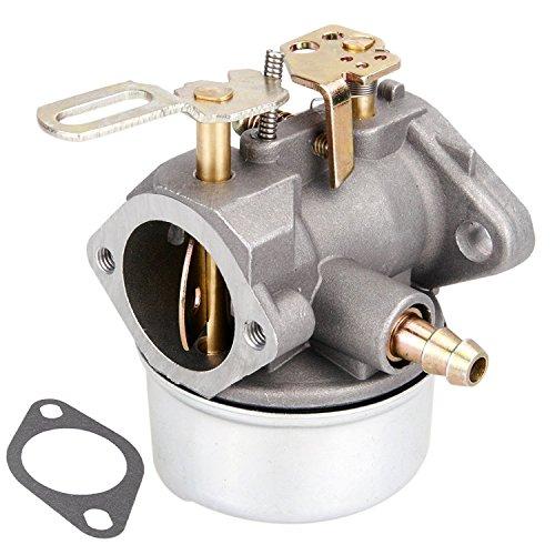 Outdoors & Spares Carburetor for Replaces Tecumseh HMSK80 HMSK90 LH318SA LH358SA for Snow Blower Generator Chipper Shredder 640054 640052 640349 640058 Oregon 50-659 STENS 520-926 Carb (640054)