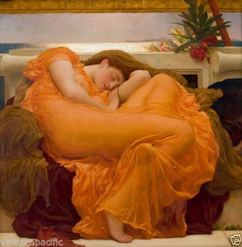 Flaming June : Frederic Lord Leighton : circa 1895 : Fine Art Giclee Print