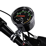 Vbestlife Bike Computer Waterproof Mechanical Bicycle Speedometer Odometer Cycling Stopwatch Cyclocomputer for 26/27.5/28/29 inch Bikes
