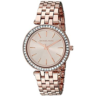 Michael Kors Women's Darci Rose Gold-Tone Watch MK3366
