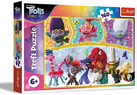 Trefl 160 Piece Jigsaw Puzzle For Kids Let/'s Have Fun Together
