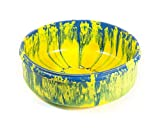 Ruff Dawg Rubber Dog Bowl Small Assorted Colors