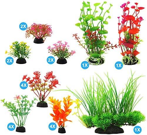 Plantas artificiales para decoraciones para acuarios 2