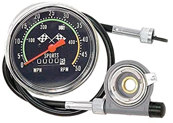 Acelist Old School Style Bicycle Speedometer Fits 26