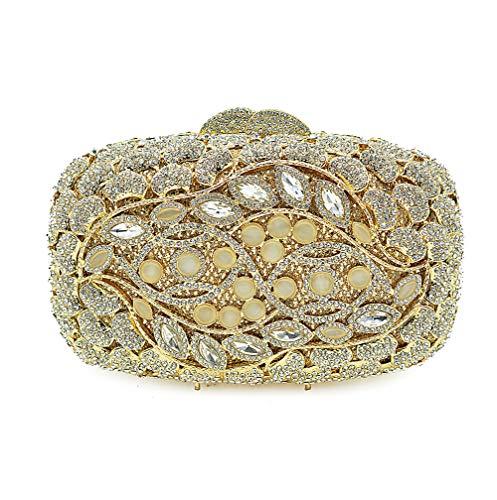 Dîner De De De Fête KOKR De Diamant Dames Clubs Main Main De Sac Plein De À Soirée Gold Mariage Sacs Sacs Perles À De Les xxvq8w7zF
