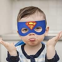 KRUCE 24 Máscaras de Fiesta de Superhéroes,Máscara de Dibujos Animados de Tortugas Ninja,Suministros de Fiesta de Cumpleaños de Superhéroe,Niños de ...