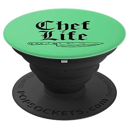Amazon.com: Chef Life - Cuchillo de cocina retro para ...