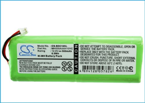 Replacement Battery for SPORTDOG SD-2500 Transmitter by BCXY