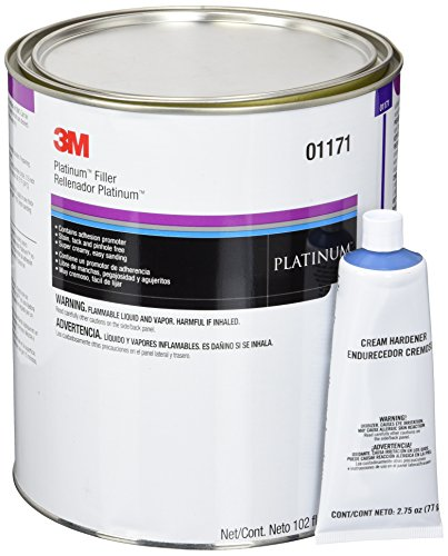 3M 01171 Platinum Filler - 102 fl oz