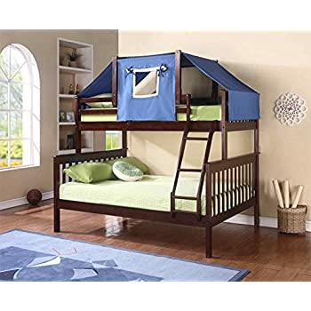 DONCO KIDS Tent Topper Kit Cappuccino with Blue Tent , Twin