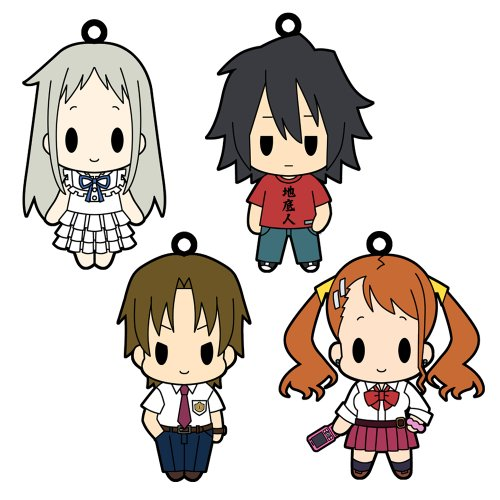 Ano Hi Mita Hana no Namae wo Bokutachi wa Mada Shiranai Rubber Strap Collection Vol.1 8 pieces