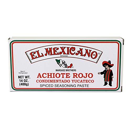 El Mexicano Achiote Rojo Paste 14 oz