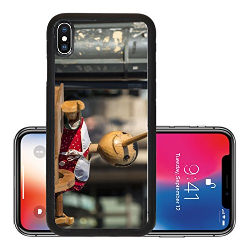 Liili Premium Apple iPhone X Aluminum Backplate Bumper Snap Case Milan Lombardy Italy wooden music box with Pinocchio Photo 17811185]()