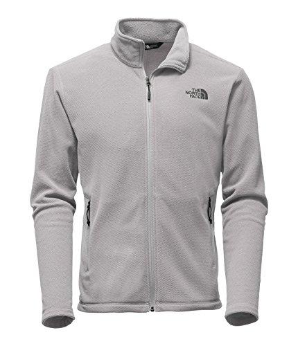 Texture Cap Rock Full Zip Jacket - Monument Grey Texture S (The North Face Fleece Cap)