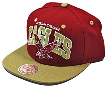 Image Unavailable. Image not available for. Colour  Mitchell   Ness Boston  College Eagles Team Arch Snapback NCAA Cap 2717b24a6624
