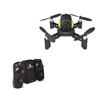 Mini Drone Quadcopter, Remote Control RC Pocket Drone (Infrared ...