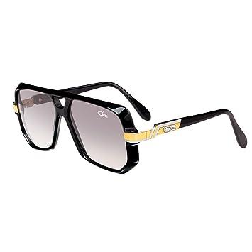 Gafas de Sol Cazal Vintage 627/3 Col. 001 Negro Oro: Amazon ...