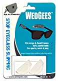 Wedgees Eyeglass Retainers and Eyewear Holders Dual fit Clear