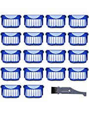 l clean Replacement Irobot Roomba 600 & 700 Series Accessories for 18Pcs AeroVac Filter ,Compatible with Irobot Roomba 536 550 551 552 564 570 585 589 692 690 680 671 650 614 Series Parts