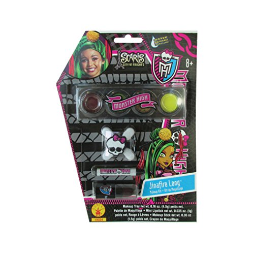 Jinafire Costumes Long (Monster High Jinafire Long Costume Make-Up Kit Halloween Accessory)