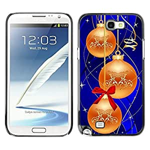 YOYO Slim PC / Aluminium Case Cover Armor Shell Portection //Christmas Holiday Decorations 1191 //Samsung Note 2