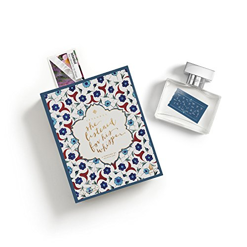 Fictions Perfume Spray - Istanbul. She Listened For His Whisper - By Olivia Jan - Spicy Florals - Peach Skin, Black Pepper, Saffron, Rose Petal, Incense, Oud Wood, Blond Woods, -