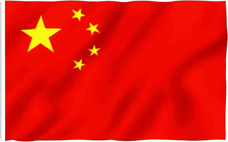 DURABOL Bandera de China Flag of Chine (150X90CM): Amazon.es: Deportes y aire libre
