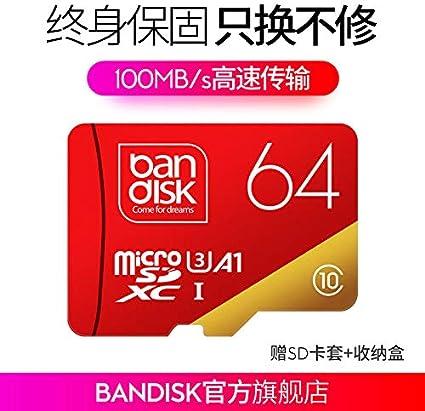 Amazon.com: Bandisk Tarjeta de memoria de 2.26 oz c10 sd ...