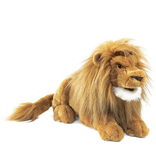 Folkmanis Lion Hand Puppet by Folkmanis