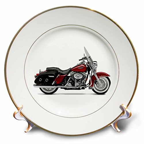 3dRose LLC Plate Picturing Harley-Davidson Motorcycle for sale  Delivered anywhere in USA