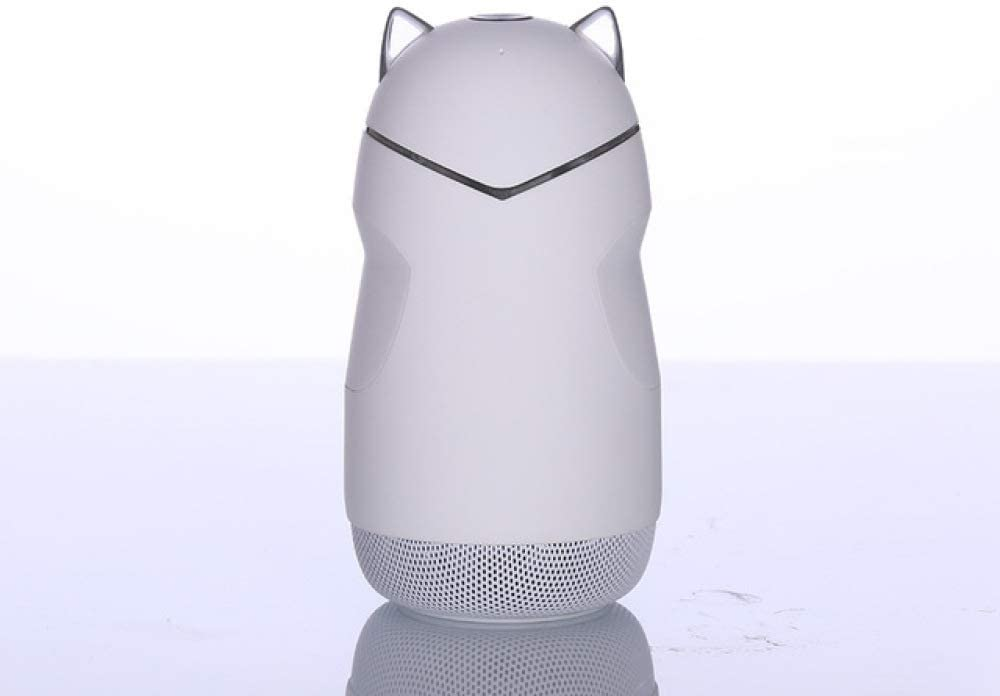 qiyanCute Cat Altavoz Bluetooth Inalámbrico Portátil con Luz Led ...